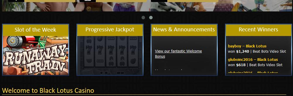 Black Lotus Casino Bonuses
